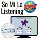 Music Boom Cards: So Mi La Listening