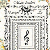 Music Borders (set 1)