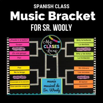 Music Bracket - mania musical de Sr. Wooly