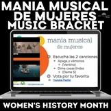 Music Bracket - mania musical de mujeres -Women's History