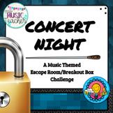 "Music Breakout Box Escape Room ""Concert Night"""