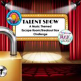 "Music Breakout Box Escape Room ""Talent Show"""