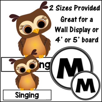 Music Bulletin Board Music is a Hoot! {Music Room Décor}
