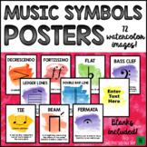 Music Bulletin Board: Music Symbols Music Posters