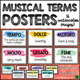 Music Bulletin Board: Musical Terms Music Posters