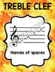 Music Bulletin Board: Note Name Music Decor