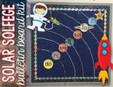 Music Bulletin Board - Solar Solfege {Space Theme Music Room Set}