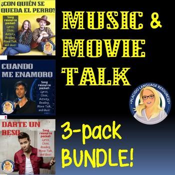 Music & MovieTalk Bundle - Enrique Iglesias, Prince Royce, Jesse y Joy
