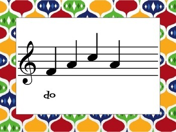 Music Cards: Beginning Sight Reading Sol-Mi-Do
