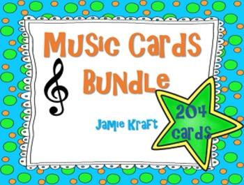 Music Cards Bundle