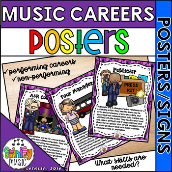 Careers in Music (Music Careers) - Signs About Performing & Non-Performing Jobs