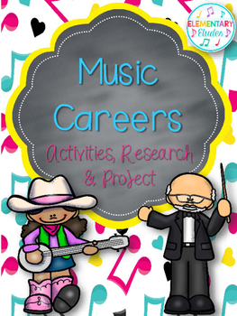 Music Careers: Activities, Research & Project