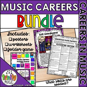 Music Careers (BUNDLE)
