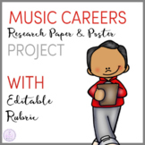 Music Careers Research Paper and Poster Project