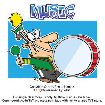 Music Cartoon Clipart