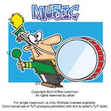 Music Cartoon Clipart