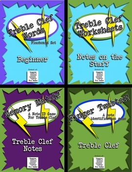 Music Center Bundle for Treble Clef