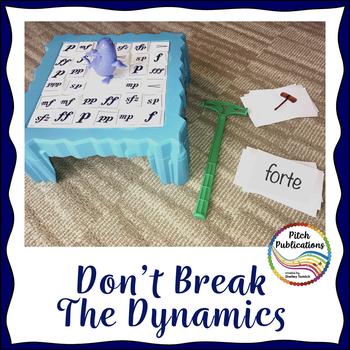 Music Center: Don't Break the Dynamics! - Dynamics Symbol Reading Game