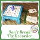 Music Center: Don't Break the Recorder! - Recorder Fingerings Music Game