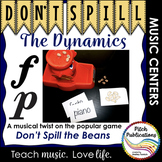 Music Center: Don't Spill the Dynamics! - Dynamics Symbol