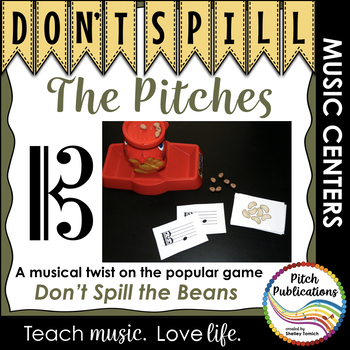 Music Center: Don't Spill the Pitches! - Alto Clef Pitch Note Reading Game