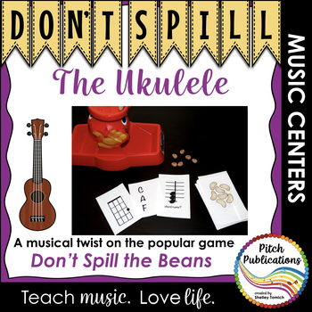 Music Center: Don't Spill the Ukulele! - Ukulele Centers Game