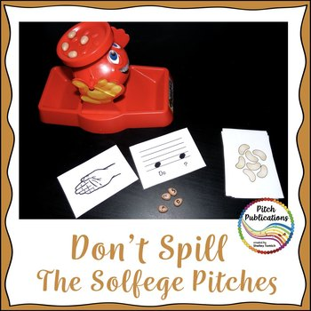 Music Center: Don't Spill the Pitches! - Solfege Pitch Note Reading Game