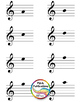 Music Center: Don't Spill the Pitches! - Treble Clef Pitch