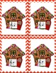 Center Game Treble Clef Note Names - Christmas Gingerbread Theme