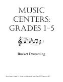 Music Centers Grade 1 to 5: Bucket Drumming
