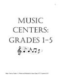 Music Centers Grade 1 to 5: Complete Package