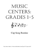 Music Centers Grade 1 to 5: Cup Song Routine