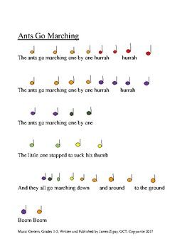 Music Centers Grade 1 to 5: Boom Whacker Songs
