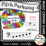 Music Centers: Pitch Parkway - Bass Clef Customizable Game