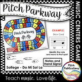 Music Centers: Pitch Parkway - Solfege Do Mi Sol La Game,