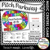 Music Centers: Pitch Parkway - Solfege Do Re Mi Fa Sol La Ti Do Game, Practice