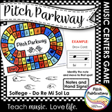 Music Centers: Pitch Parkway - Solfege Do Re Mi Sol La Gam
