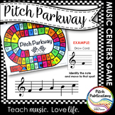 Music Centers: Pitch Parkway - Treble Clef Customizable Ga