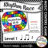 Music Centers: Rhythm Race Counting Level Beginner - Rhyth