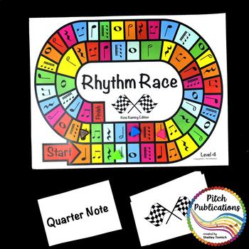 Music Centers: Rhythm Race Note Naming Edition Level 4 - Rhythm Game