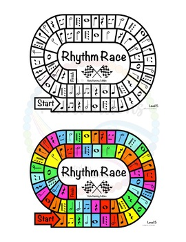 Music Centers: Rhythm Race Note Naming Edition Level 5 - Rhythm Game