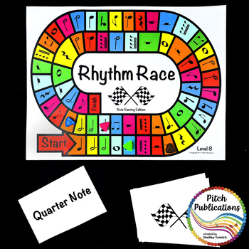 Music Centers: Rhythm Race Note Naming Edition Level 8 - Rhythm Game