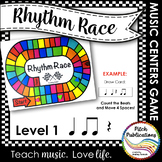Music Centers: Rhythm Race Counting Level 1 - Rhythm Game and Practice