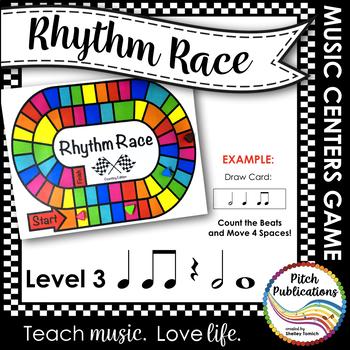 Music Centers: Rhythm Race Counting Edition Level 3 - Rhythm Game