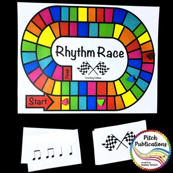 Music Centers: Rhythm Race Counting Edition Level 4 - Rhythm Game