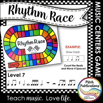 Music Centers: Rhythm Race Counting Edition Level 7 - Rhythm Game