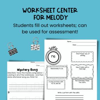 Music Centers Set {2nd Grade Bundle}