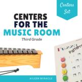 Music Centers Set {3rd Grade Bundle}