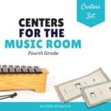 Music Centers Set {4th Grade Bundle}