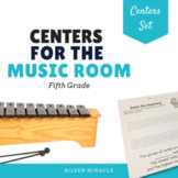 Music Centers Set {5th Grade}